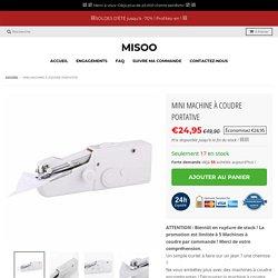 Mini machine à coudre portative – Misoo