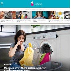 Machine à laver : 4 bons gestes pour en finir avec les mauvaises odeurs
