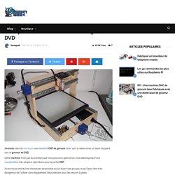 Une machine CNC de gravure laser fabriquée avec une diode laser de graveur DVD