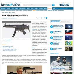 How Machine Guns Work - HowStuffWorks