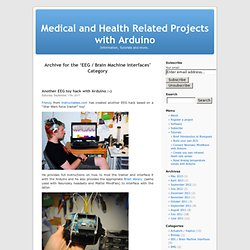 EEG / Brain Machine Interfaces « Medical and Health Related Projects with Arduino