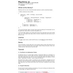 Machine.js