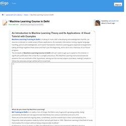 Machine Learning Training in Delhi