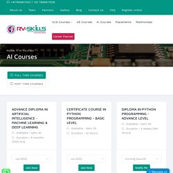 AI & Machine Learning Courses in India