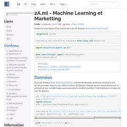 2A.ml - Machine Learning et Marketting — Python dans tous ses états 0.9.2798