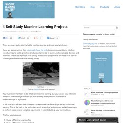 4 Self-Study Machine Learning Projects