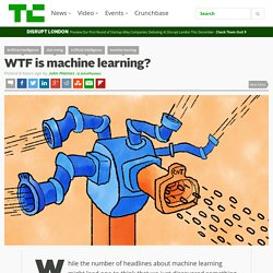 WTF is machine learning?