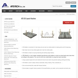 ATD 3D Layout Machine Manufacturer in Korea