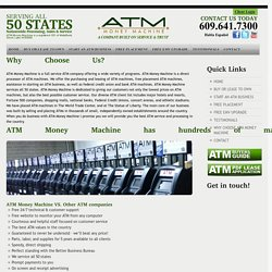 Why Choose Atm Money Machine For Your Last Atm Destination