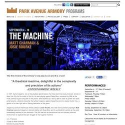 The Machine : Program & Events : Park Avenue Armory