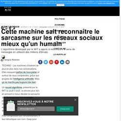Cette machine sait reconnaître le sarcasme sur les réseaux sociaux mieux qu'un humain