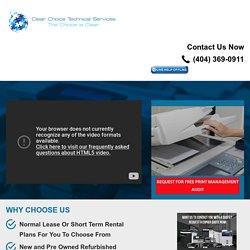 Copy Machine Rentals - Copier Lease Atlanta