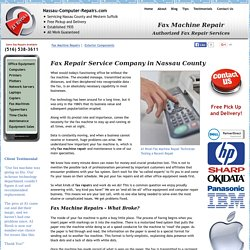 Get Fax Repair Services in Nassau & Suffolk Counties: A1 Rivoli