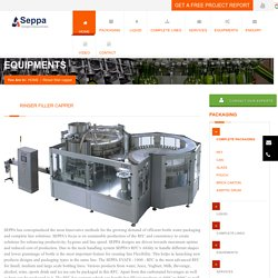 Rinsing Filling Capping Machine - Seppa