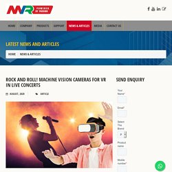 Machine Vision Cameras Dealer India - Menzel Vision and Robotics