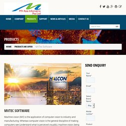 Machine Vision Software dealer of MVTEC Singapore
