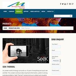 Machine Vision System Seek Thermal Cameras Singapore