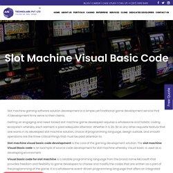 Slot Machine Visual Basic Code - Own Custom Slot Machine Source Code