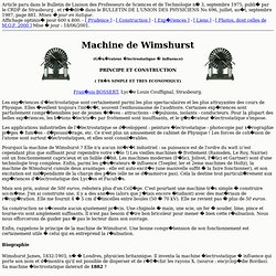 Machine de Wimshurst
