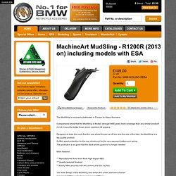 MachineArt MudSling - R1200R (2013), y compris les modèles avec l'ESA (MAM-M-SLING-RESA) - frisquet Normands