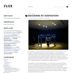 Machines et dispositifs