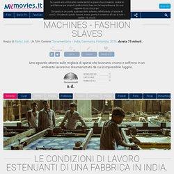 Machines - Fashion Slaves (2016)