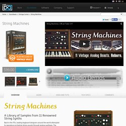 String Machines - Vintage String Synths Collection