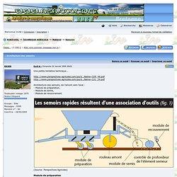 TCS - SD - SDSC - Culture - Elevage - Machinisme AGRICOOL -> Architecture des semoirs