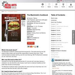 The Machinist's Cookbook