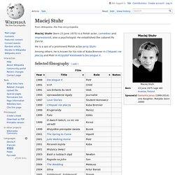 Maciej Stuhr - biografia