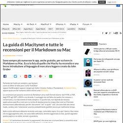La guida di Macitynet e tutte le recensioni per il Markdown su Mac - Pagina 2 di 2
