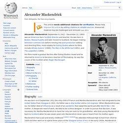 Alexander Mackendrick