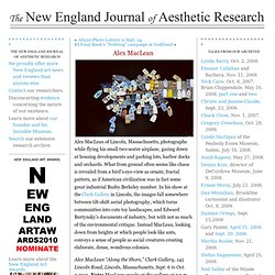 Alex MacLean « New England Journal of Aesthetic Research