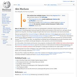 Alex MacLean