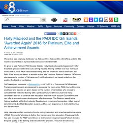 The PADI IDC Gili Islands with Platinum PADI Course Director Holly Macleod Awarded in Indonesia