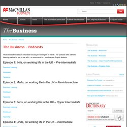 The Business – Podcasts