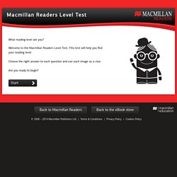 Macmillan Readers Level Test