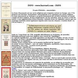 franc-maçonnerie, sectes, sociétés secrètes,francs-maçons : infos - livres.