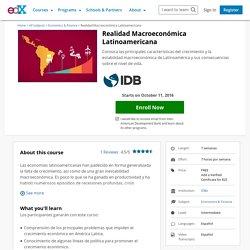Realidad Macroeconómica Latinoamericana
