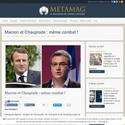 Macron et Chauprade: même combat!