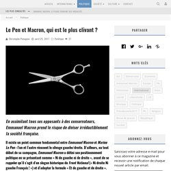 Le Pen et Macron, qui est le plus clivant?