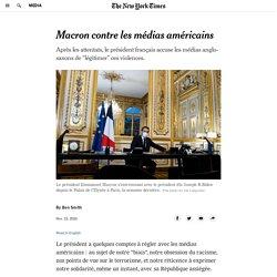 Macron contre les médias américains