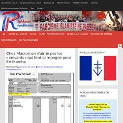 """Chez Macron on n'aime pas les """"crevards"""" qui font campagne pour En Marche"""