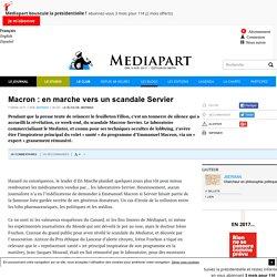 Macron : en marche vers un scandale Servier