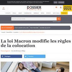 La loi Macron modifie les règles de la colocation
