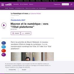 """Macron et le numérique : vers """"l'Etat plateforme"""""""