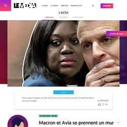 Macron et Avia se prennent un mur démocratique Le Media 19 juin 2020