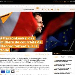 #MacronLeaks: des milliers de courriels de Macron fuitent sur la Toile