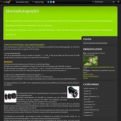 Astuces et technique macrophotographie - macrophotographie, le blog de macrophotographic