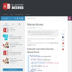 Macros Access